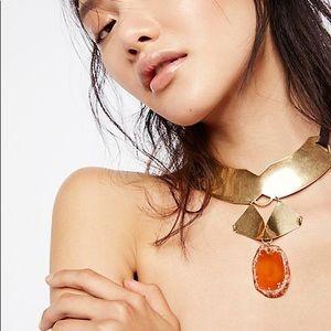 Free People Firestone choker necklace